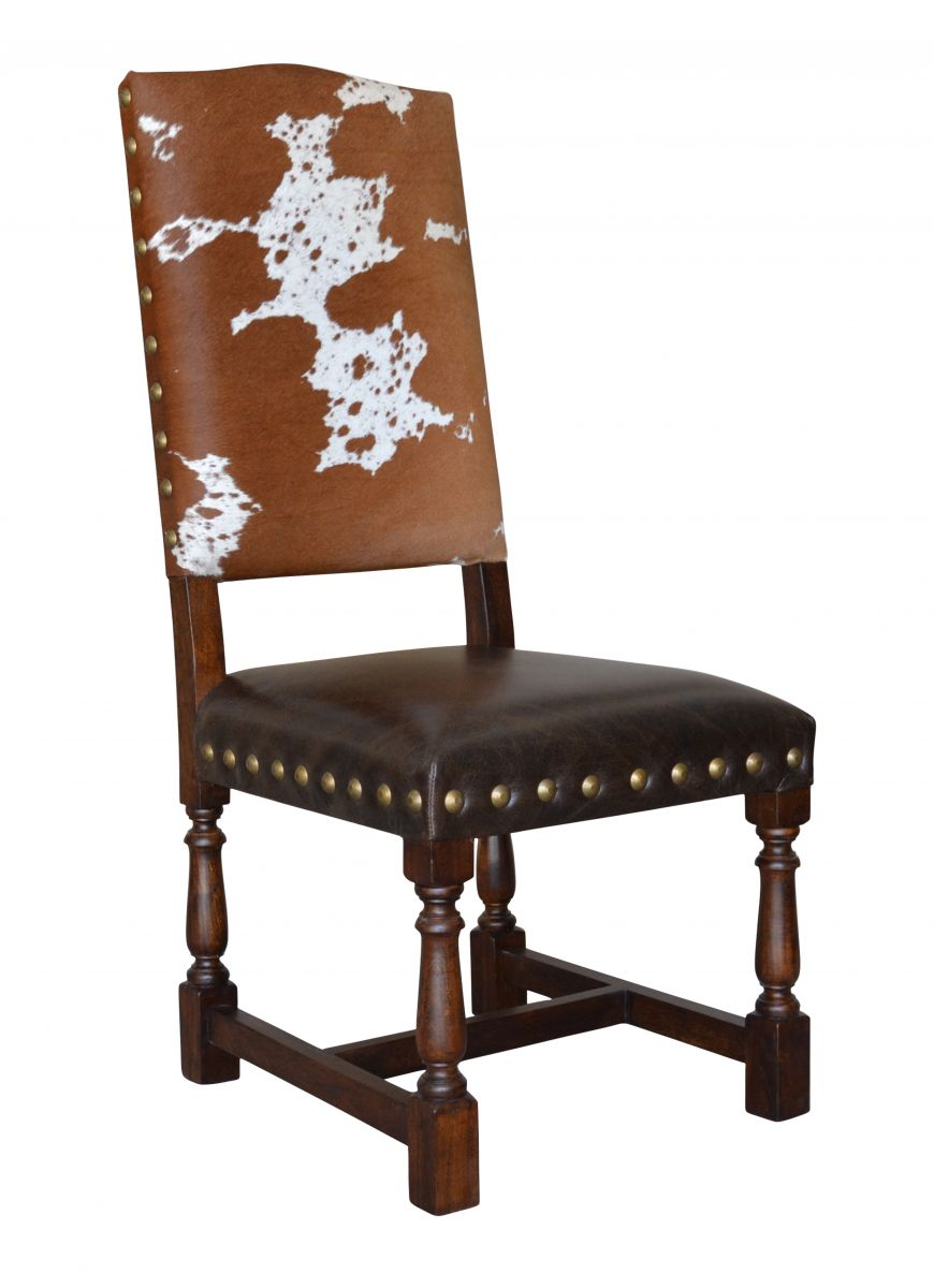 Colton Cowhide Dining Chair John Proffitt