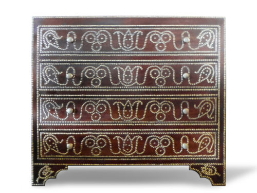 Spanish Nail Head Chest of Drawers