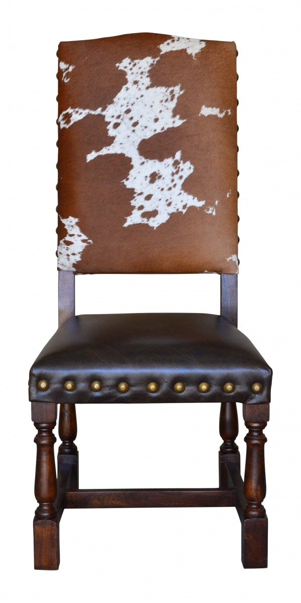 Colton Cowhide Chair