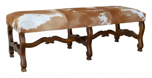 Cowhide Bench Quarter