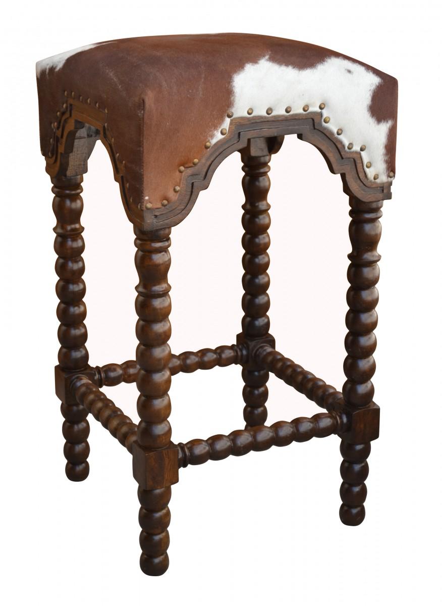 Cowhide barstool cowhide bar stool